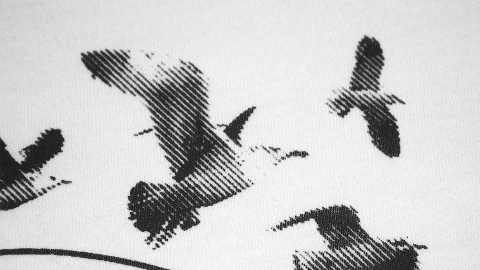 Siebdruck Poster, büttenpapier, grafik, design, la communion - Siebdruck auf handgeschöpftem Papier, poster, grafikem, plakate, paper prints, grafikdesign, rasterdruck, waldbrand media, textildruck, siebdruck motive, kork