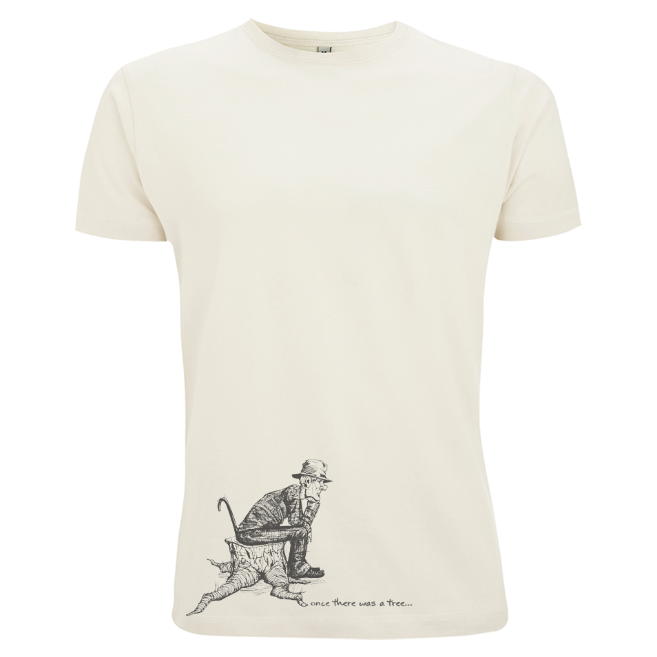 Once there was a tree - Illustration - Siebdruck auf Bio-Baumwollshirt