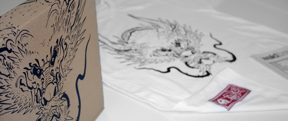 Textildruck auf Shirts im Siebdruck