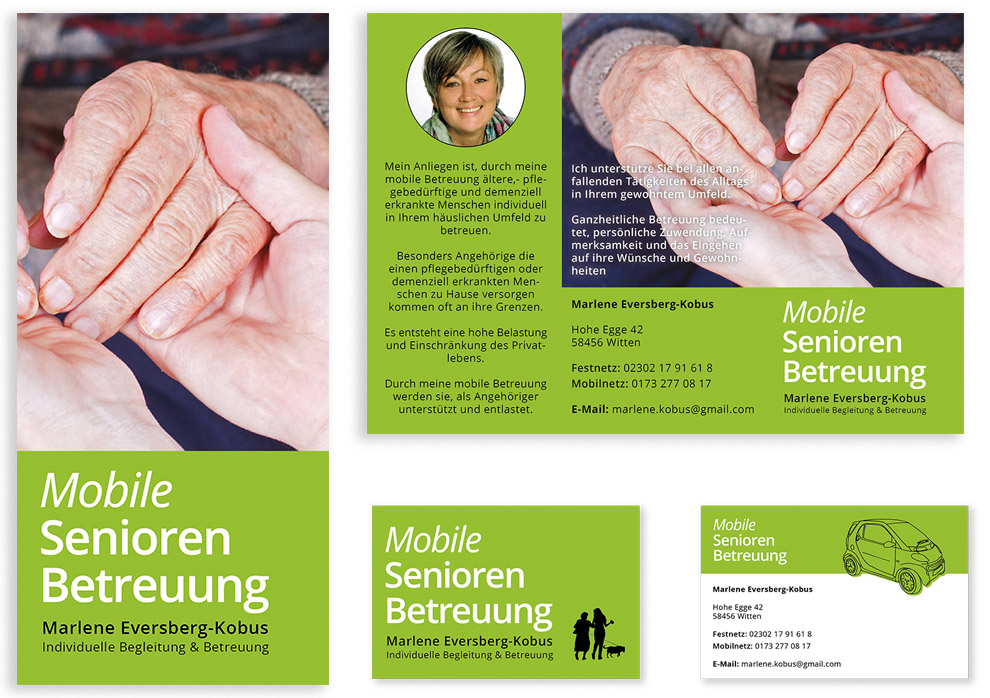 Grafik & Design, corporate design, grafik, business, medien, print, flyer, visitenkarten