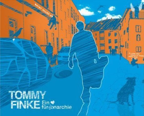 "CD Cover Gestaltung & Illustration für Bochumer Singer Songwriter Musiker Thommy ""Thomas David"" Finke"
