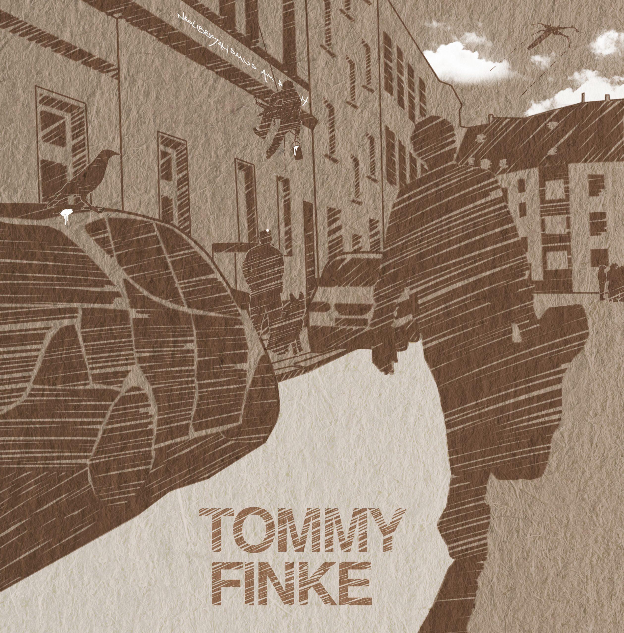 CD Cover Artwork illustration grafik für Tommy Finke - Bochumer Musiker/ Künstler/ Bands.
