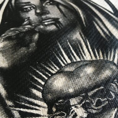 Bedruckte Textilien im Siebdruck - Shirts, Tops, Sweatshirts