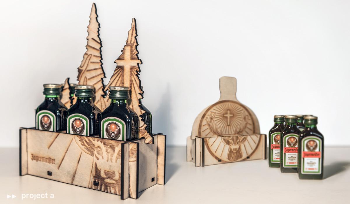 Illustrationen und technische Zeichnungen – Holz Laserschnitt Grafik Design.