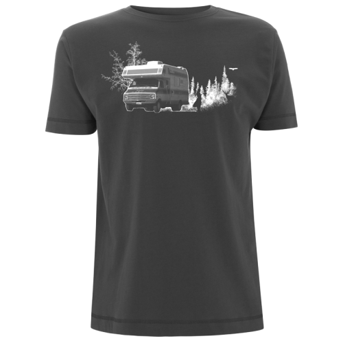 Dodge Camper Van Siebdruck T-Shirt