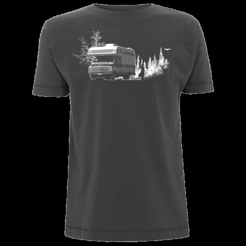 Dodge Camper Van Siebdruck T-Shirt