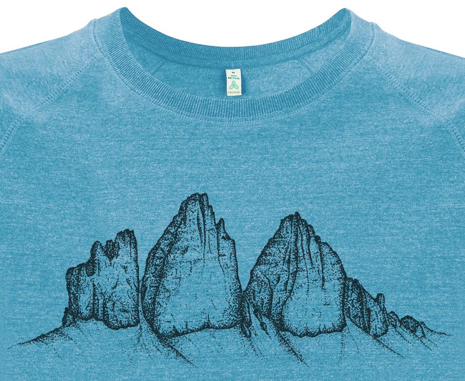 Die Drei Zinnen Dolomiten Sweatshirt Herren