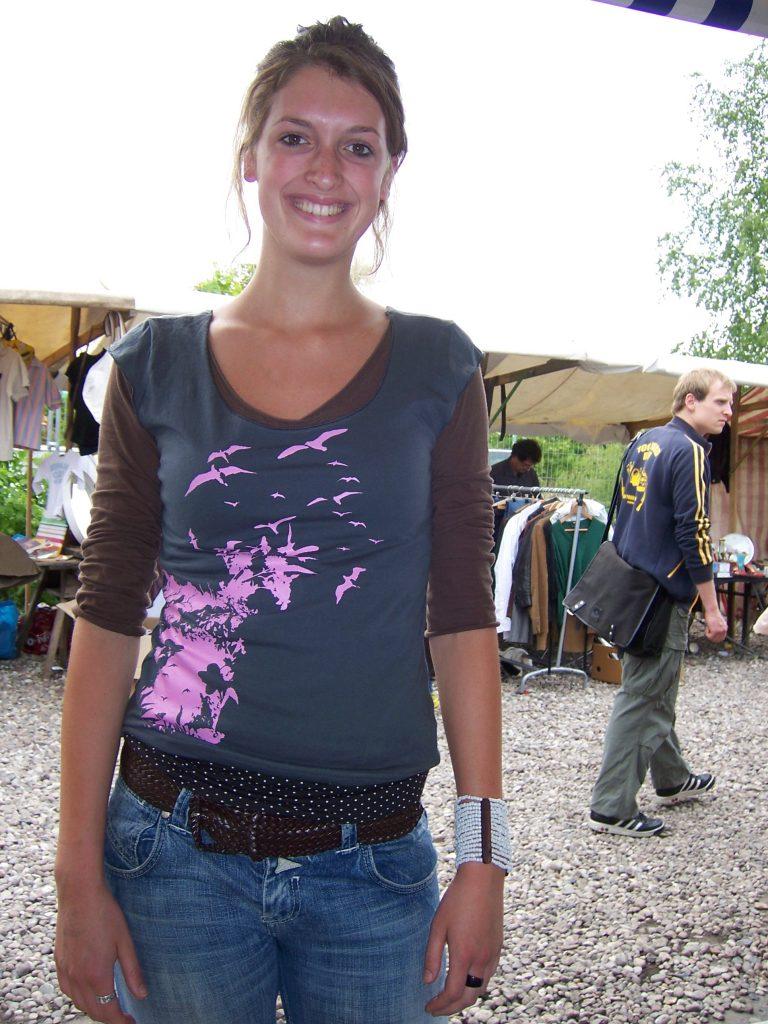 Mauerpark Berlin - Bedruckte Textilien im Siebdruck - Waldbrand Clothing