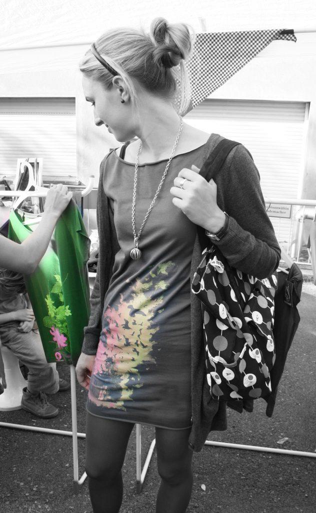 Galerie - Bedruckte Textilien im Siebdruck - Waldbrand Clothing