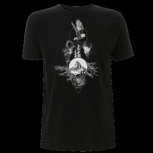 Spiritual Particles - schwarzes Herren T-Shirt