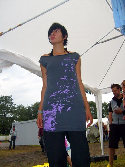 Waldbrand Galerie Hurricane Festival