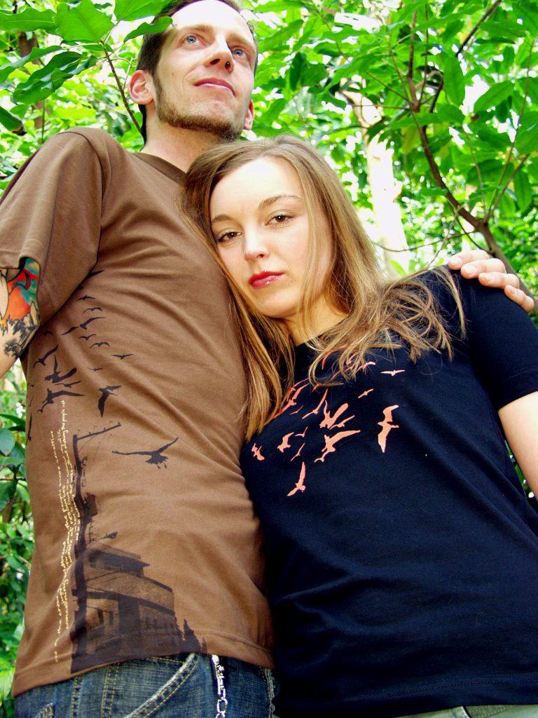 Waldbrand Clothing Fotoshooting | Tropenhaus Bochum 2006
