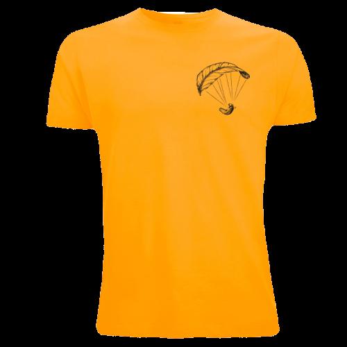 Gelbes Paragliding Shirt für Männer