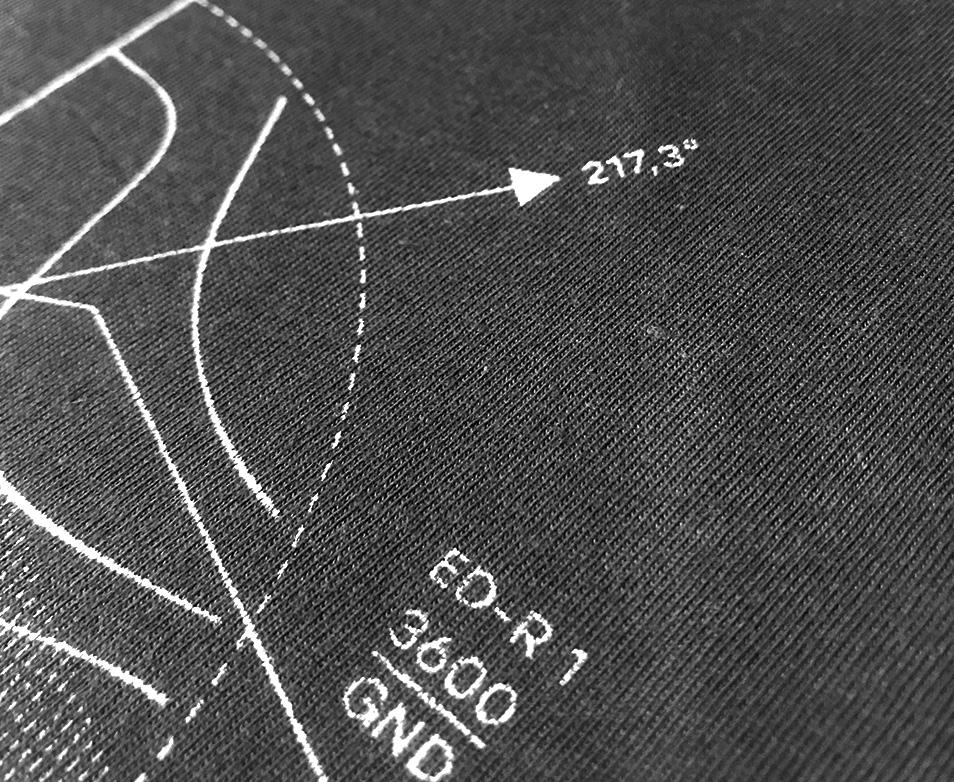 ED-R Lufträume Fluglevel FL Pilotenshirts