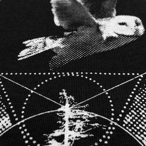 Schwarzes Damenshirt - Spiritual Particles